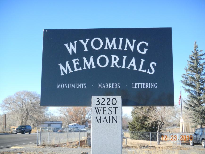 Wyoming Memorials